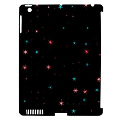 Awesome Allover Stars 02f Apple Ipad 3/4 Hardshell Case (compatible With Smart Cover) by MoreColorsinLife