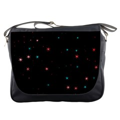 Awesome Allover Stars 02f Messenger Bags by MoreColorsinLife