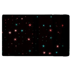 Awesome Allover Stars 02f Apple Ipad 2 Flip Case by MoreColorsinLife