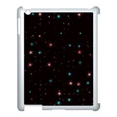 Awesome Allover Stars 02f Apple Ipad 3/4 Case (white) by MoreColorsinLife