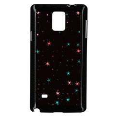 Awesome Allover Stars 02f Samsung Galaxy Note 4 Case (black)