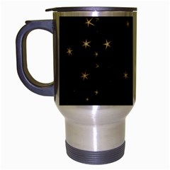Awesome Allover Stars 02a Travel Mug (silver Gray) by MoreColorsinLife