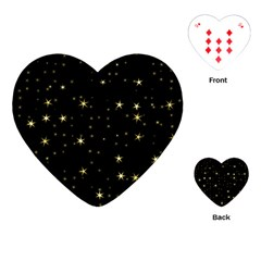 Awesome Allover Stars 02a Playing Cards (heart)  by MoreColorsinLife