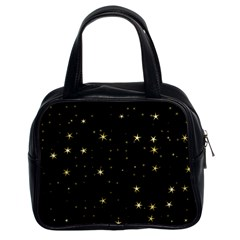 Awesome Allover Stars 02a Classic Handbags (2 Sides) by MoreColorsinLife