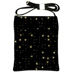Awesome Allover Stars 02a Shoulder Sling Bags by MoreColorsinLife