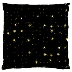Awesome Allover Stars 02a Large Cushion Case (two Sides) by MoreColorsinLife