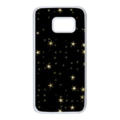 Awesome Allover Stars 02a Samsung Galaxy S7 White Seamless Case by MoreColorsinLife