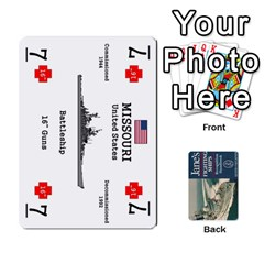 Naval War   Ship Deck By Fccdad   Playing Cards 54 Designs   Ri0h54yyf0qn   Www Artscow Com Front - Diamond3