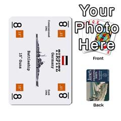 Naval War   Ship Deck By Fccdad   Playing Cards 54 Designs   Ri0h54yyf0qn   Www Artscow Com Front - Spade8