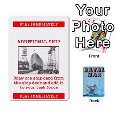 Queen Naval War   Play Deck By Fccdad   Playing Cards 54 Designs   Hm88xqhxe3aj   Www Artscow Com Front - ClubQ