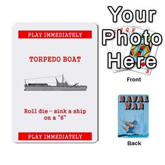 Naval War Deck 2a By Fccdad   Playing Cards 54 Designs   D84gc2q7m85r   Www Artscow Com Front - Spade2