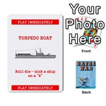 Naval War deck 2a - Playing Cards 54 Designs