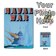 Naval War Deck 2a By Fccdad   Playing Cards 54 Designs   D84gc2q7m85r   Www Artscow Com Back