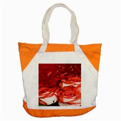 Nice Rose With Water Accent Tote Bag by BangZart