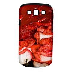 Nice Rose With Water Samsung Galaxy S Iii Classic Hardshell Case (pc+silicone) by BangZart