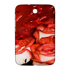 Nice Rose With Water Samsung Galaxy Note 8 0 N5100 Hardshell Case  by BangZart