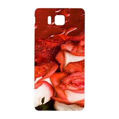 Nice Rose With Water Samsung Galaxy Alpha Hardshell Back Case