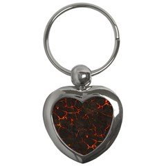 Volcanic Textures Key Chains (heart)