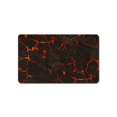 Volcanic Textures Magnet (name Card) by BangZart