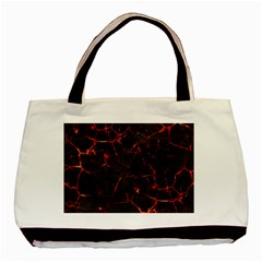 Volcanic Textures Basic Tote Bag by BangZart