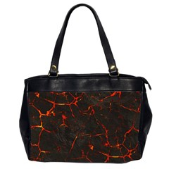 Volcanic Textures Office Handbags (2 Sides)  by BangZart