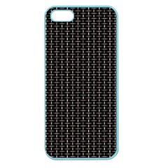 Dark Black Mesh Patterns Apple Seamless Iphone 5 Case (color) by BangZart