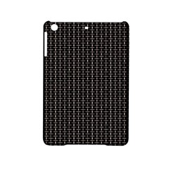 Dark Black Mesh Patterns Ipad Mini 2 Hardshell Cases by BangZart