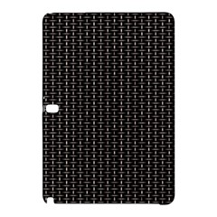 Dark Black Mesh Patterns Samsung Galaxy Tab Pro 12 2 Hardshell Case