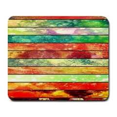 Stripes Color Oil Large Mousepads by BangZart