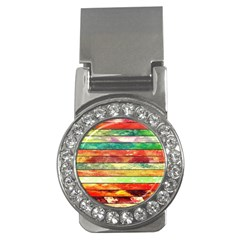 Stripes Color Oil Money Clips (cz)  by BangZart