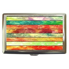 Stripes Color Oil Cigarette Money Cases by BangZart