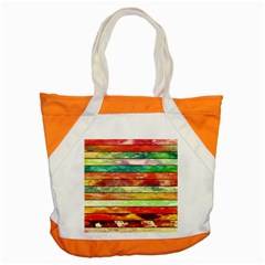 Stripes Color Oil Accent Tote Bag by BangZart