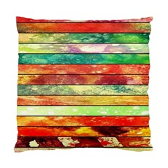 Stripes Color Oil Standard Cushion Case (one Side) by BangZart