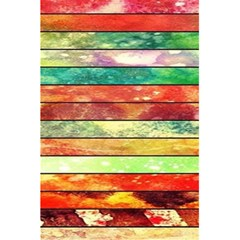 Stripes Color Oil 5 5  X 8 5  Notebooks by BangZart