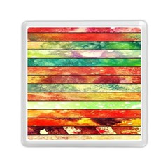 Stripes Color Oil Memory Card Reader (square)  by BangZart
