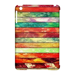 Stripes Color Oil Apple Ipad Mini Hardshell Case (compatible With Smart Cover) by BangZart