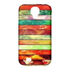 Stripes Color Oil Samsung Galaxy S4 Classic Hardshell Case (pc+silicone) by BangZart