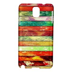 Stripes Color Oil Samsung Galaxy Note 3 N9005 Hardshell Case