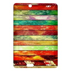 Stripes Color Oil Amazon Kindle Fire Hd (2013) Hardshell Case by BangZart