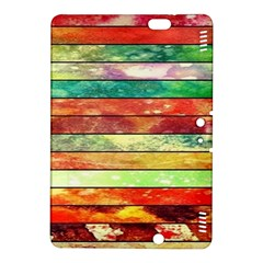 Stripes Color Oil Kindle Fire Hdx 8 9  Hardshell Case by BangZart