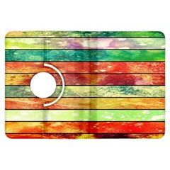 Stripes Color Oil Kindle Fire Hdx Flip 360 Case by BangZart