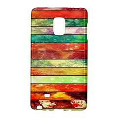 Stripes Color Oil Galaxy Note Edge by BangZart