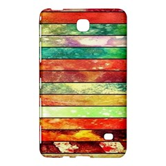 Stripes Color Oil Samsung Galaxy Tab 4 (7 ) Hardshell Case  by BangZart