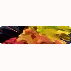 Green Yellow Red Maple Leaf Large Bar Mats