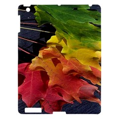 Green Yellow Red Maple Leaf Apple Ipad 3/4 Hardshell Case