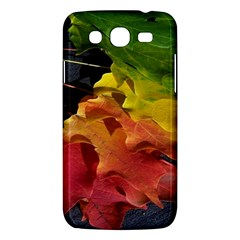 Green Yellow Red Maple Leaf Samsung Galaxy Mega 5 8 I9152 Hardshell Case