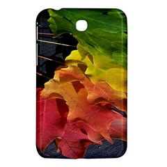 Green Yellow Red Maple Leaf Samsung Galaxy Tab 3 (7 ) P3200 Hardshell Case