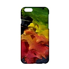 Green Yellow Red Maple Leaf Apple Iphone 6/6s Hardshell Case