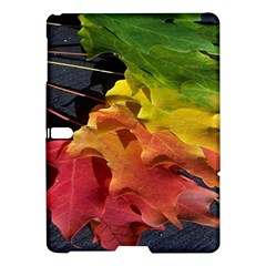 Green Yellow Red Maple Leaf Samsung Galaxy Tab S (10 5 ) Hardshell Case