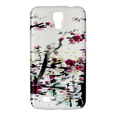 Pink Flower Ink Painting Art Samsung Galaxy Mega 6 3  I9200 Hardshell Case by BangZart